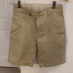 Boys Gap Flat Front Khaki Short